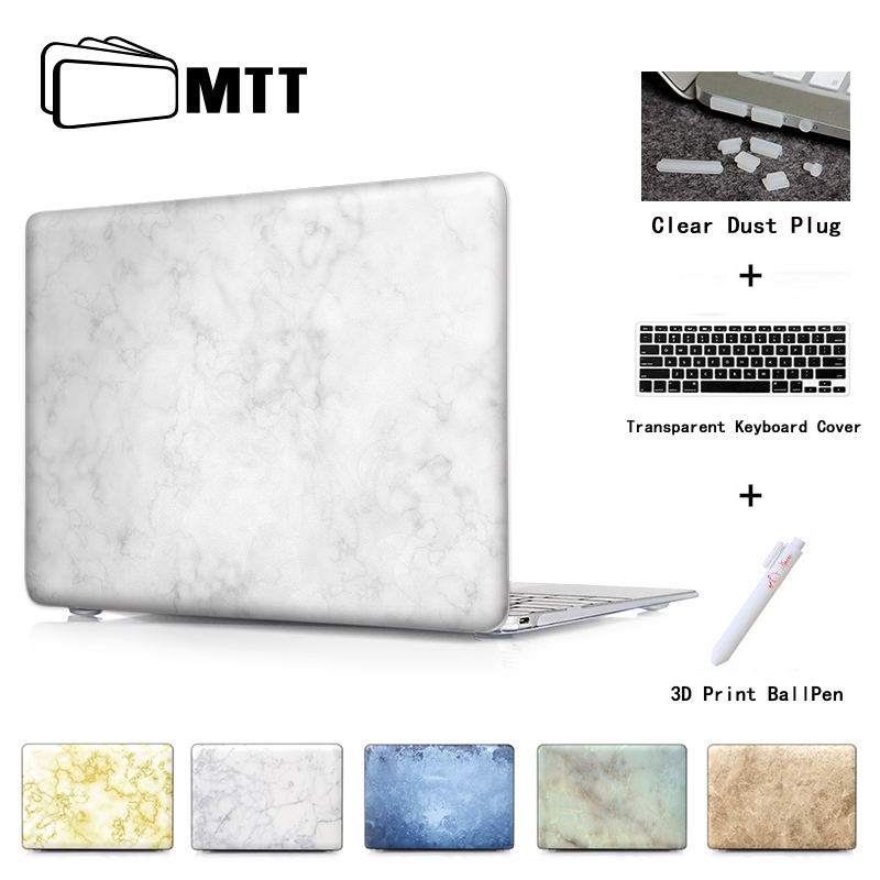 Marble Ceramic Tile Laptop Computer Bag Case For Mac Apple Macbook Pro 15 For Macbook 12 Retina + Silicone Keyboard Cover ...