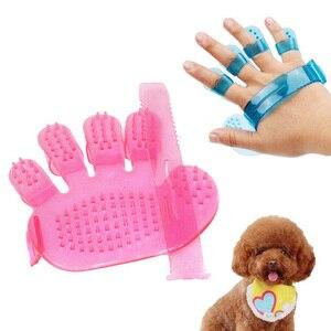 Щетка-Расческа для собак, перчатка для груминга собак, массажная перчатка с пятью пальцами для ухода за кошками, домашняя форма для удаления...