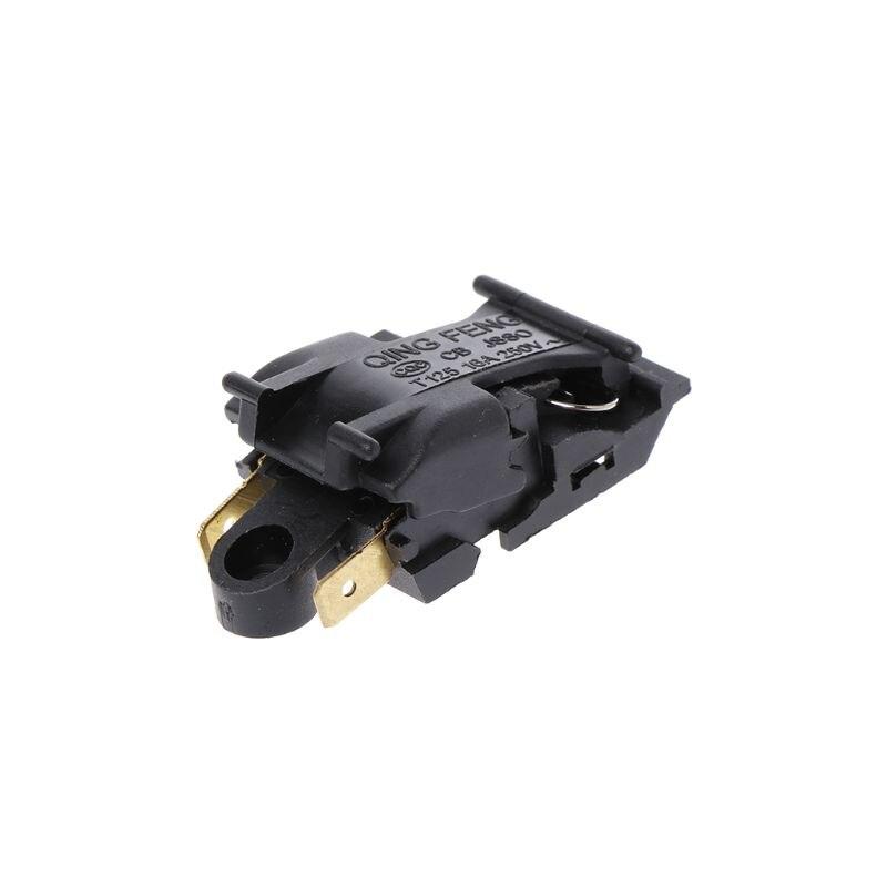 1PC 16A Elektrische Wasserkocher Thermostat Schalter 2 Pin Terminal Küchengerät Teile