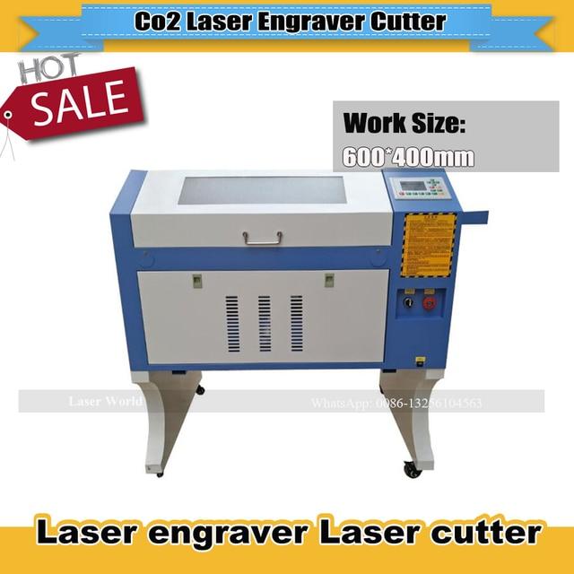 50w/60w/80w Sealed CO2 Glass Tube Laser Engraver Machine Ruida 4060 DIY Laser Cutter Marking Machine Carving Machine