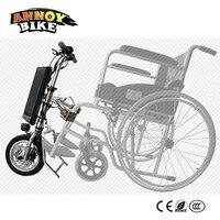 36V 250W Electric Wheelchair Tractor Wheelchair Handbike DIY Electric Wheelchair Conversion Kits With 36V 9Ah Battery