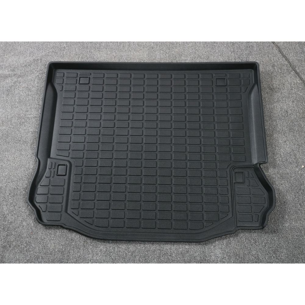 BBQ@FUKA Car Trunk Liner Rear Cargo Boot Mat Floor Tray Carpet Mud Kick Pad Car Interior Protector Fit for Jeep Wrangler 2008+ 3d trunk mat for peugeot 508 waterproof car protector carpet auto floor mats keep clean interior accessories