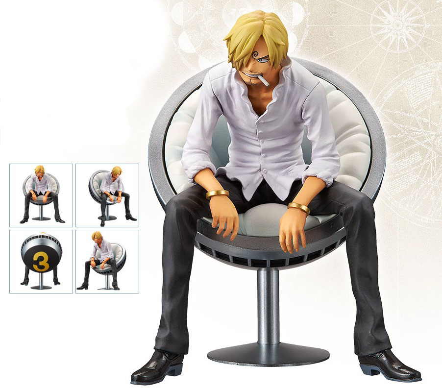 110mm Japanese original anime figure one piece Sanji action figure collectible model toys for boys