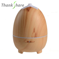 THANKSHARE 300ml Ultrasonic Humidifier For Home LED Humidificador Aroma Lamp Essential Oil Diffuser Aromatherapy Mist Maker