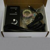 Optical LED Ring Light Source For Microscope 30mm Inner Dia White Light 48 LED Lights Infrared 940nm Illuminator