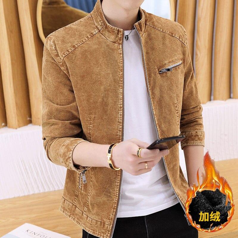 9efc28e6bf79 The boyfriend jacket retro jean jacket spring coat youth casual jacket