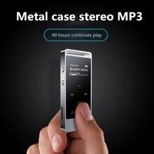 Yescool X3 8 GB de Metal de qualidade profissional de mini Gravador de voz MP3 HIFI tela sensível ao toque de rádio FM leitor de música loseless Prateado