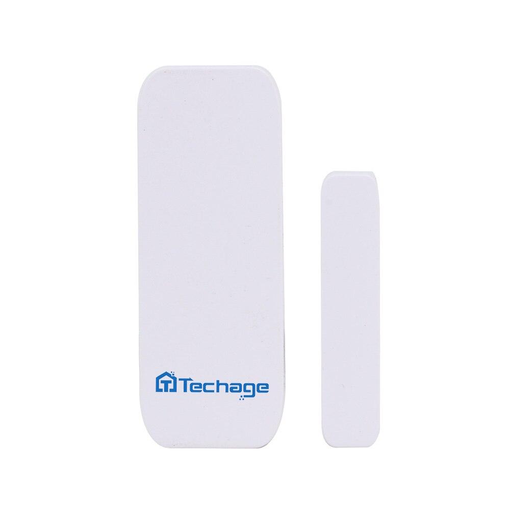 Sensor & Detektor Techage Drahtlose Tür Windows Magnet Sensor Detektor Alarm Für Wifi Hause Einbrecher Alarm System Security Kit Enthalten Die Batterie äRger LöSchen Und Durst LöSchen Sicherheit & Schutz
