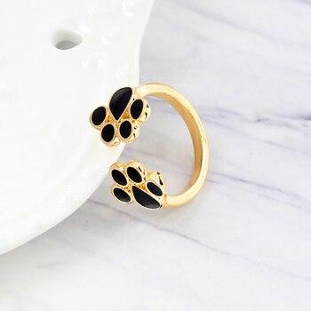 Dog Paw Print Rings  4