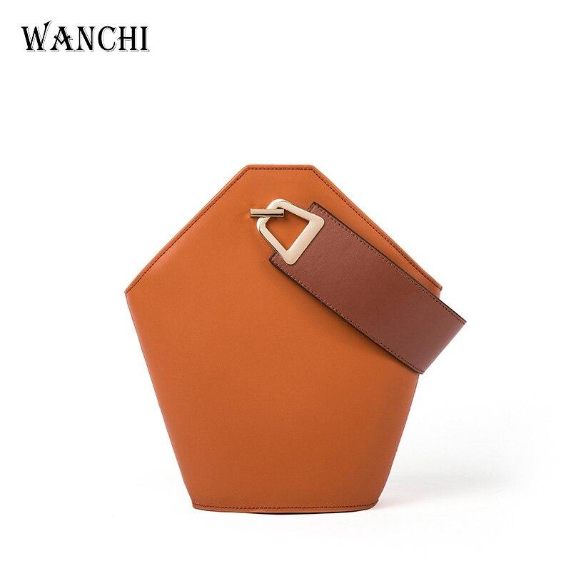 Здесь продается  Genuine Leather Purses and Handbags Tote Women Patchwork Pana Bucket Casual Designer Handbags High Quality Shoulder  Камера и Сумки