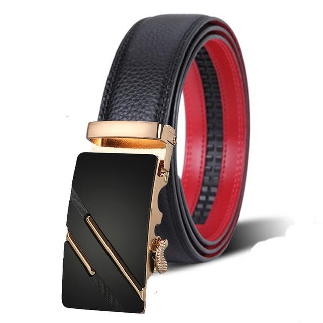 27654d1e80 Novo designer Da Marca homens cintos luxo cintos de couro reais para homens  cinto de fivela