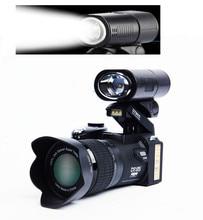 FREE shipping HD D7300 Digital Camera 33 Million Pixel Camera Digital Professional SLR shape Camera 24X Optical Zoom 3 HD Lens