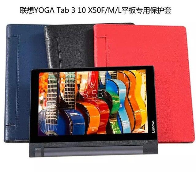 Йога TAB 3 10.1 X 50 кожаный чехол для Lenovo йога TAB 3 10.1 X 50 X50F X50M всего тела защитить планшет чехол + защитные