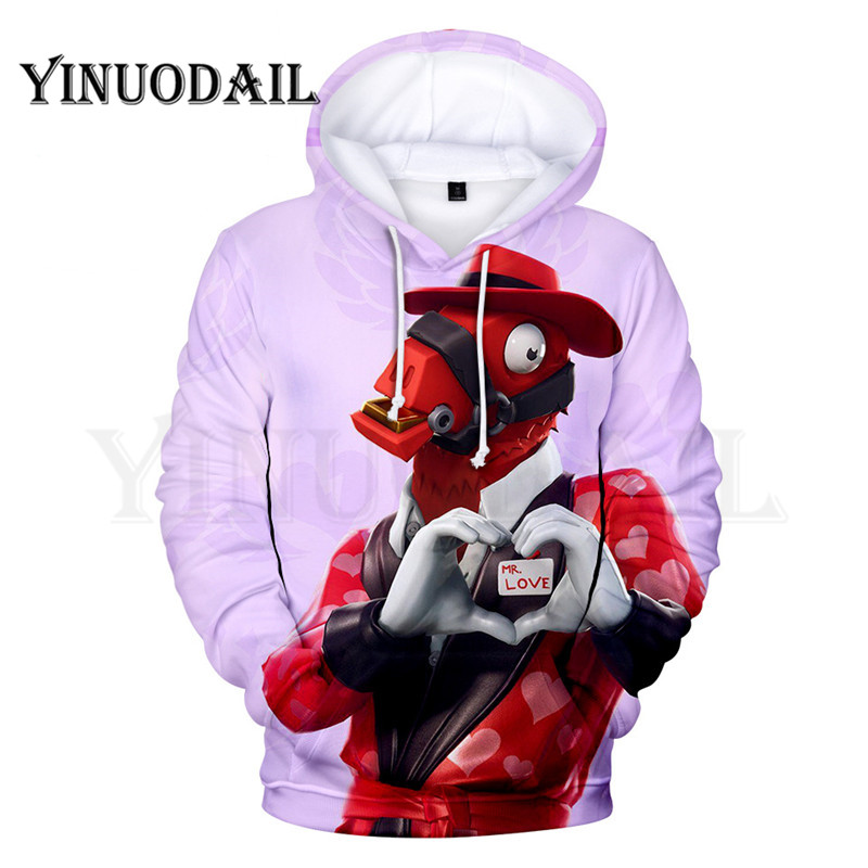 100cm-160cm Parent-Child  3D Hoodies Mr LOVE LLAMA Hoodie For Kids Sudaderas Para Hombre
