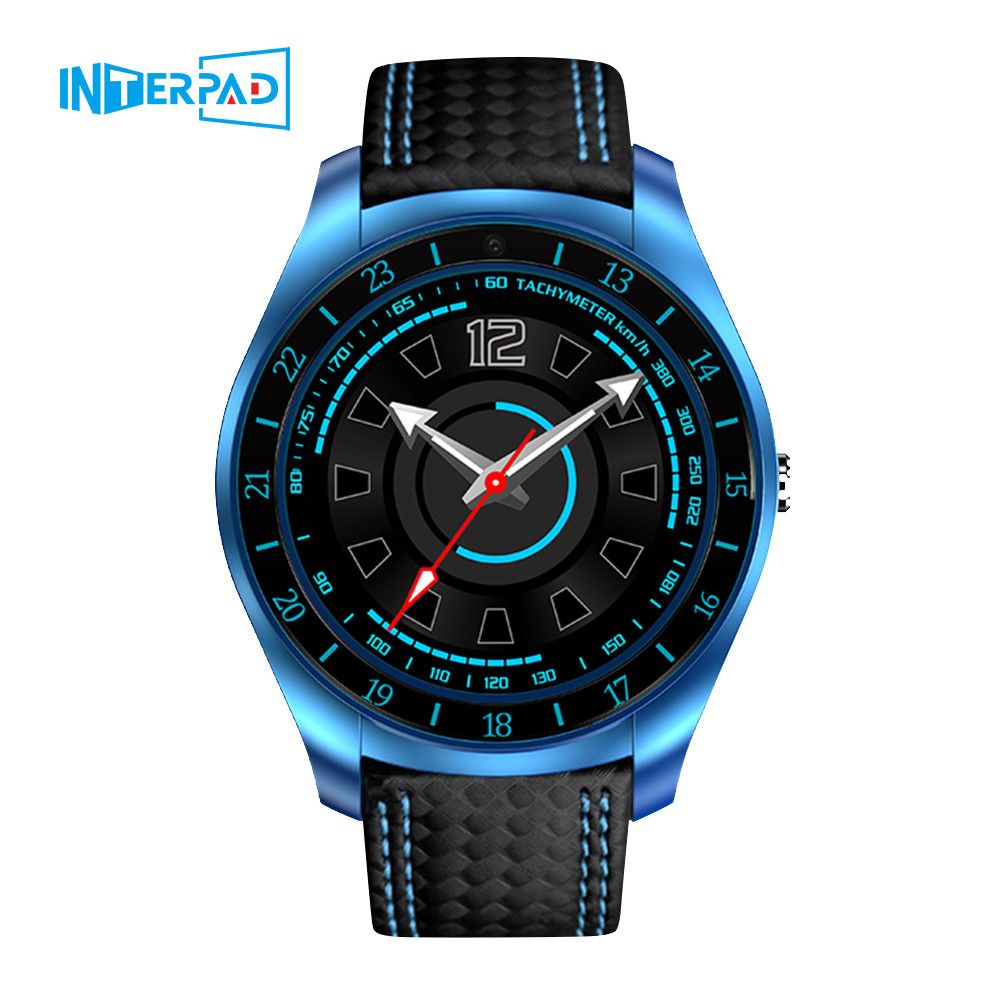 Interpad Smart Watch Men women Pedometer Support SIM TF Card Camera Heart Rate Smartwatch Watch Phone For Android Huawei Samsung