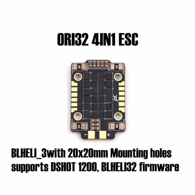 25A ORI32 4IN1 ESC (20X20) BLHELI_3with 20x20mm Montage löcher unterstützt DSHOT 1200, BLHELI32 firmware für FPV racing quadcopter