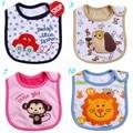 Розничная Новорожденный Одежда Burp полотна хлопок водонепроницаемый 20 раздел Рисунок По Желанию Младенческой Слюны Полотенца 0-3 лет детские нагрудники bib
