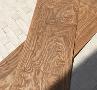 2PCS LOT L 2 5Meters Wide 15CM Thickness 0 25mm Vintage American Style Wood Veneer Decoration