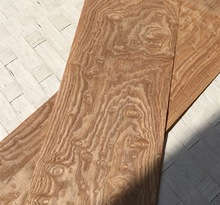 2PCS/LOT  L:2.5Meters   Wide:15CM  Thickness:0.25mm  Vintage American Style Wood Veneer  Decoration Veneer
