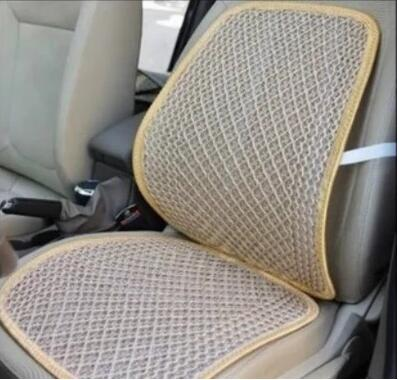 Car Waist Cushion Seat Mesh Back Lumber Support Office Chair Pad Depend In Automobiles Covers From Motorcycles