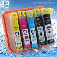 Compatible Hp178xl Ink Cartridge For Deskjet 3070A 3520 Printer