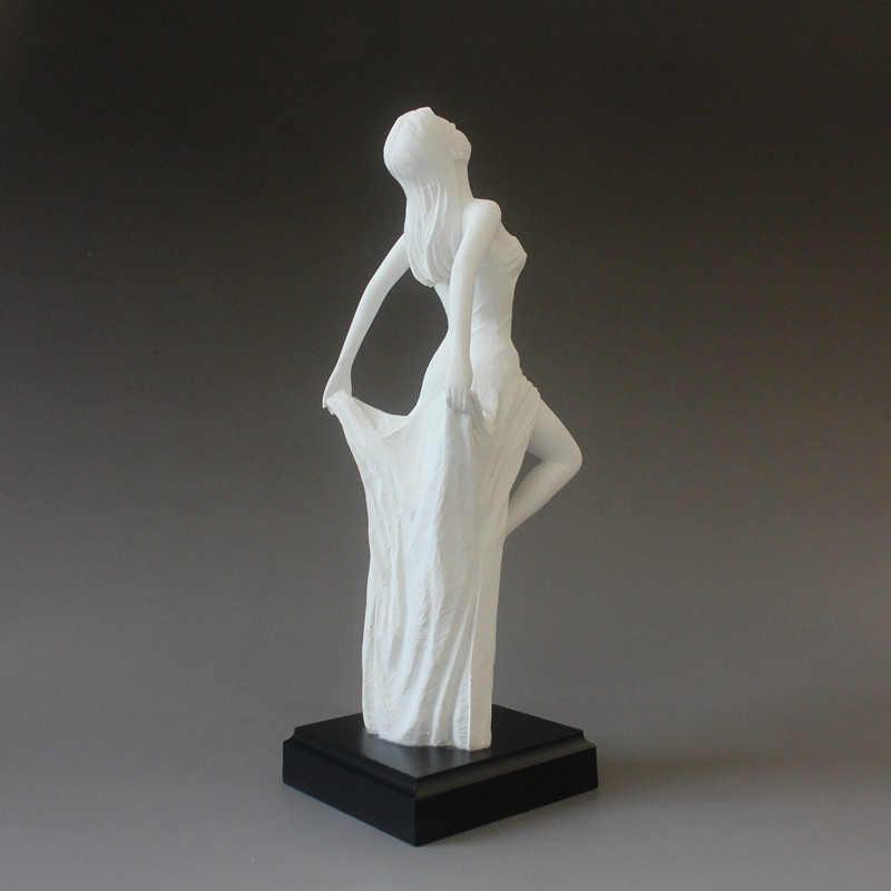 สไตล์โมเดิร์นเซ็กซี่ความงามรูปรูปปั้นขนาดเล็ก/อาบน้ำ Dance Nude ผู้หญิง Lady Girl ภายในบ้านอุปกรณ์ตกแต่งประติมากรรม