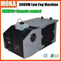 Smoke Machine 3000w Low Fog Machine Haze Machine Dry Ice Effect Smoke For Club Stage Wedding