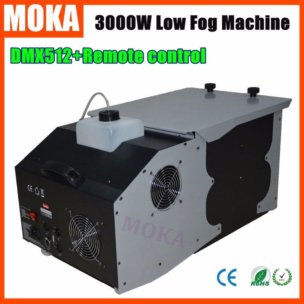 Smoke Machine 3000w Low Fog Machine Haze Machine Dry Ice Effect Smoke For Club Stage Wedding недорого