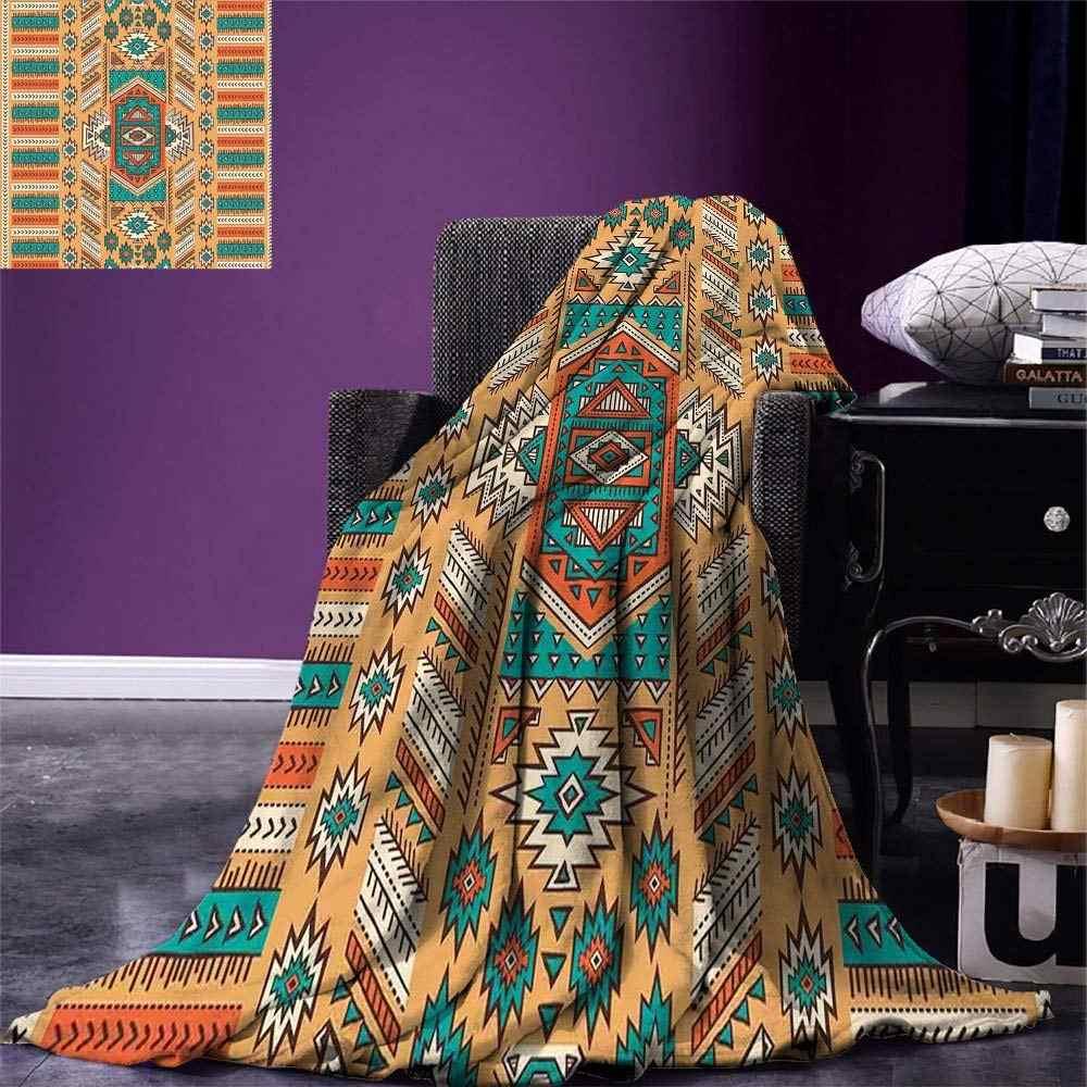 Tribal Decke Ethnischen Aztec Geheimnis Tribe Muster Böhmischen Stil Warme Mikrofaser Decke