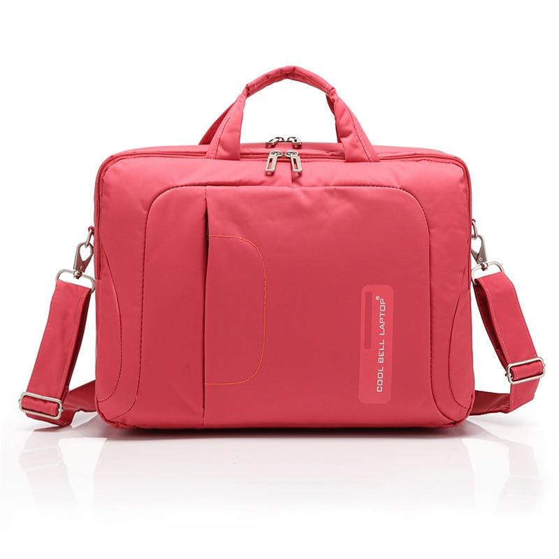 Coolbell 14inch 15inch 15.6inch Men Women Universal Laptop Shoulder bags Waterproof Shockproof Notebook Bags