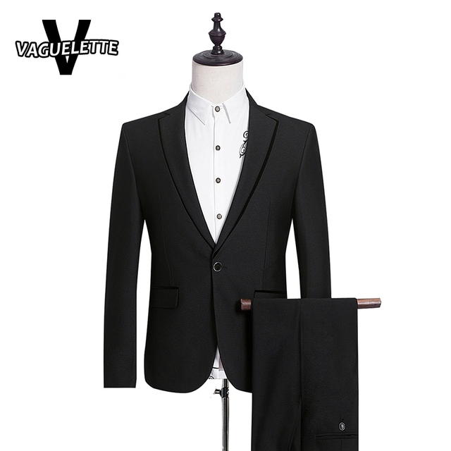 9bb0b3042 (Blazer+Pants) Mens Wedding Tuxedos Formal One Button Business Wear Men  Wedding Suit