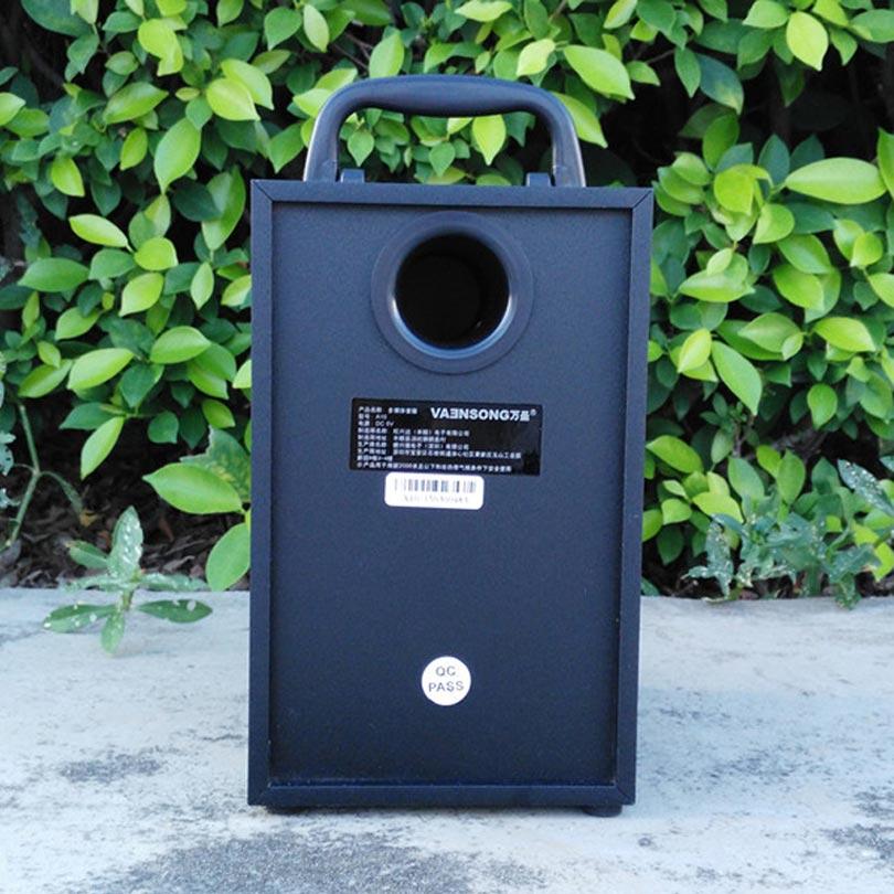 VAENSONG A10 ағаш HiFi Bluetooth спикер 2.1 Стерео - Портативті аудио және бейне - фото 5