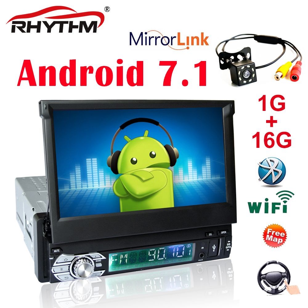 1 Din Android 7.1 autoradio stéréo universel 7