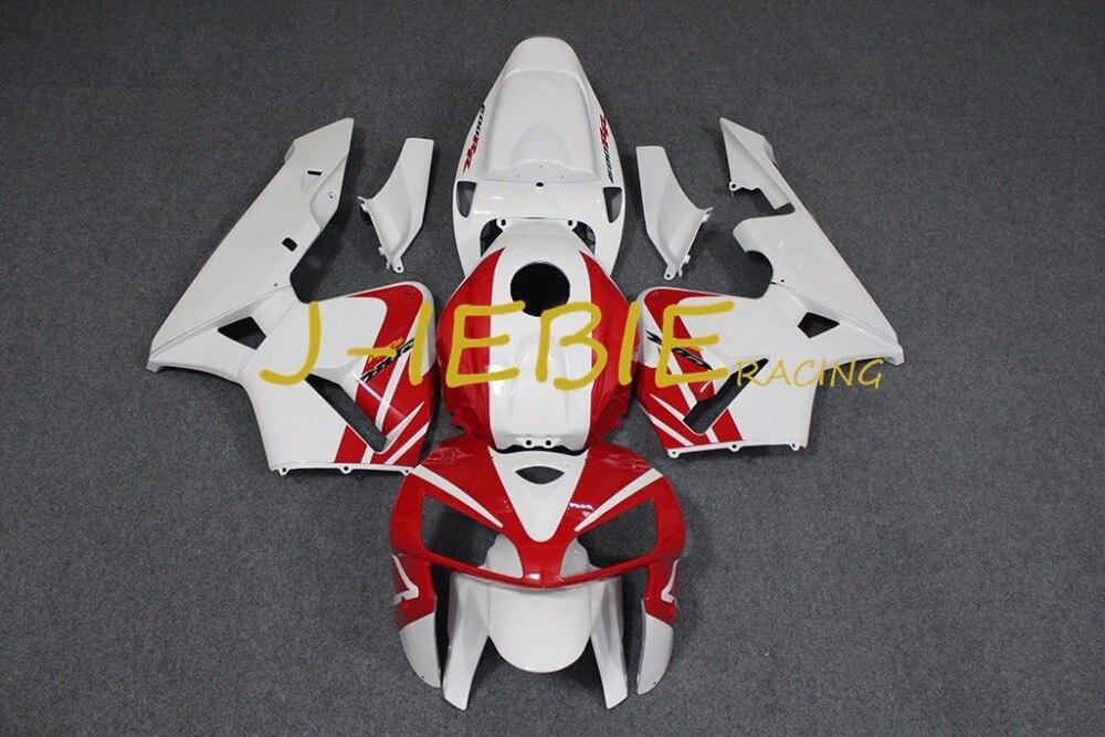 Red white Injection Fairing Body Work Frame Kit for HONDA CBR600RR CBR 600 CBR600 RR F5 2005 2006