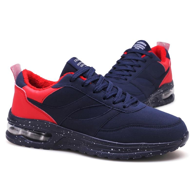 Qualidade Preto azul Livre Novos De Aquecido Homens Alta Inverno Lace Hombre up Ar Zapatos vermelho Para Manter Ao Andando Northmarch Sapatos Os Casuais Tênis 1xB5pAqw