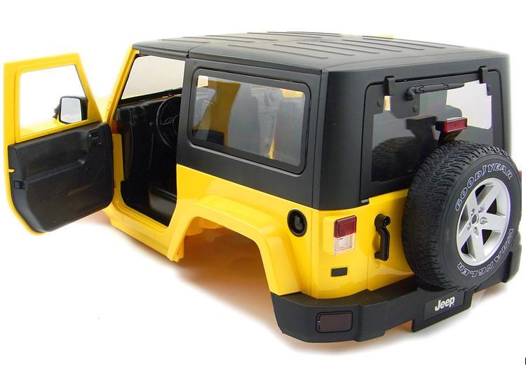 Empattement 270mm en plastique dur corps voiture Shell kit pour Axial SCX10 90020 90021 90018 D90 1/10 RC roche chenille 4WD taille 475*210mm