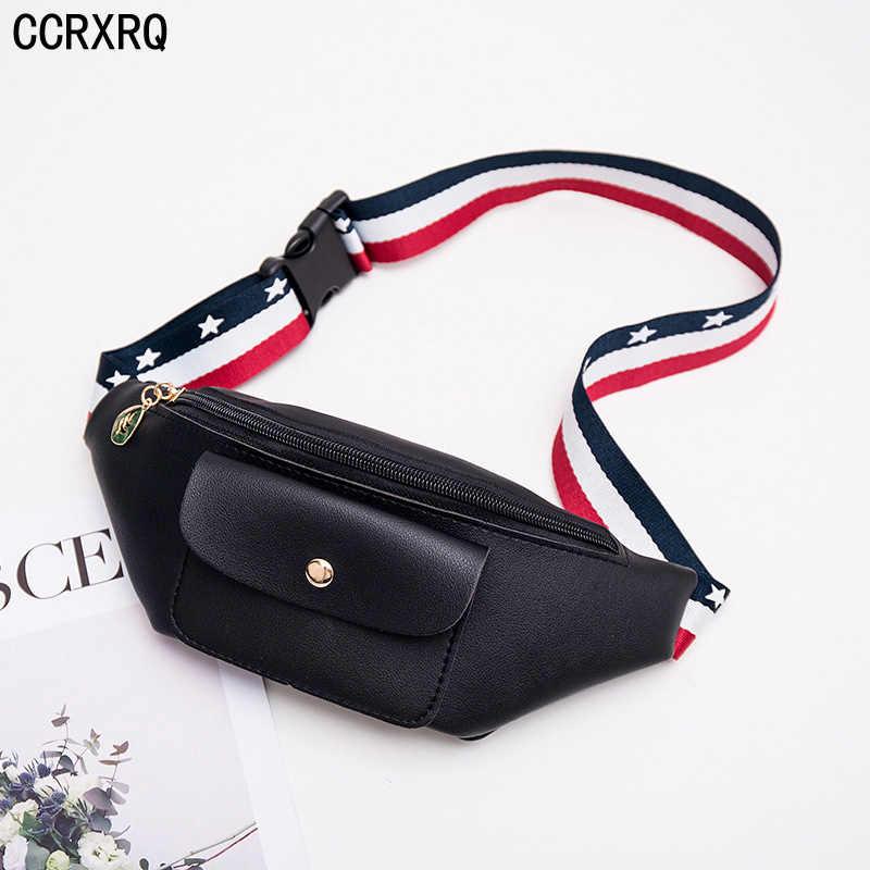 c29f4cec91e1 Waist Bags For Women Brand PU Leather Waist Pack Lady Fashion Handy ...
