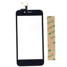 Zwarte Kleur Voor Zte Blade L4 A460 Touchscreen Sensor Digitizer Met Gratis 3 M Stickers