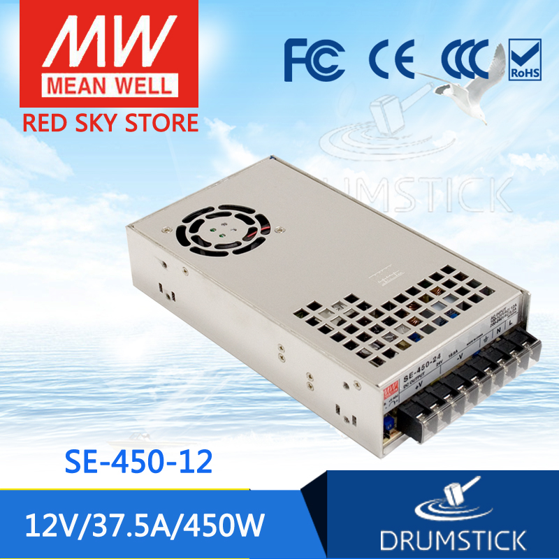 Competitive Products MEAN WELL SE-450-12 12V 37.5A meanwell SE-450 450W Single Output Power Supply [Hot1] mean well se 450 5 5v 75a meanwell se 450 5v 375w single output power supply [hot8]