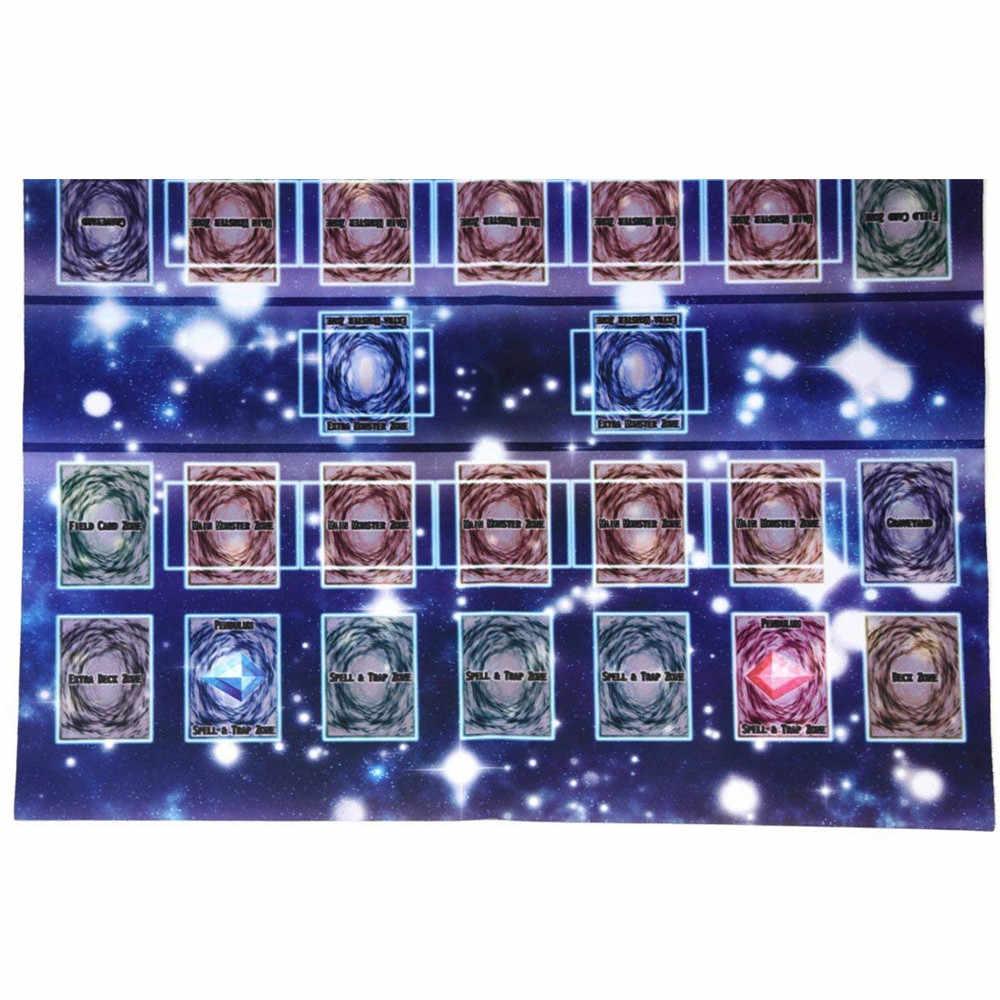 60x60 cm Galaxy estilo competencia almohadilla de alfombra para cartas Yu-gi-oh juguetes educativos rompecabezas estera de goma de espuma de bebé eva