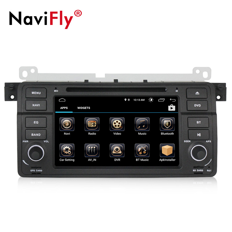 NaviFly Android 8.1 car multimedia player for BMW E46 M3 318 320 325 car dvd radio gps navigation with WIFI BT CANBUS NaviFly Android 8.1 car multimedia player for BMW E46 M3 318 320 325 car dvd radio gps navigation with WIFI BT CANBUS