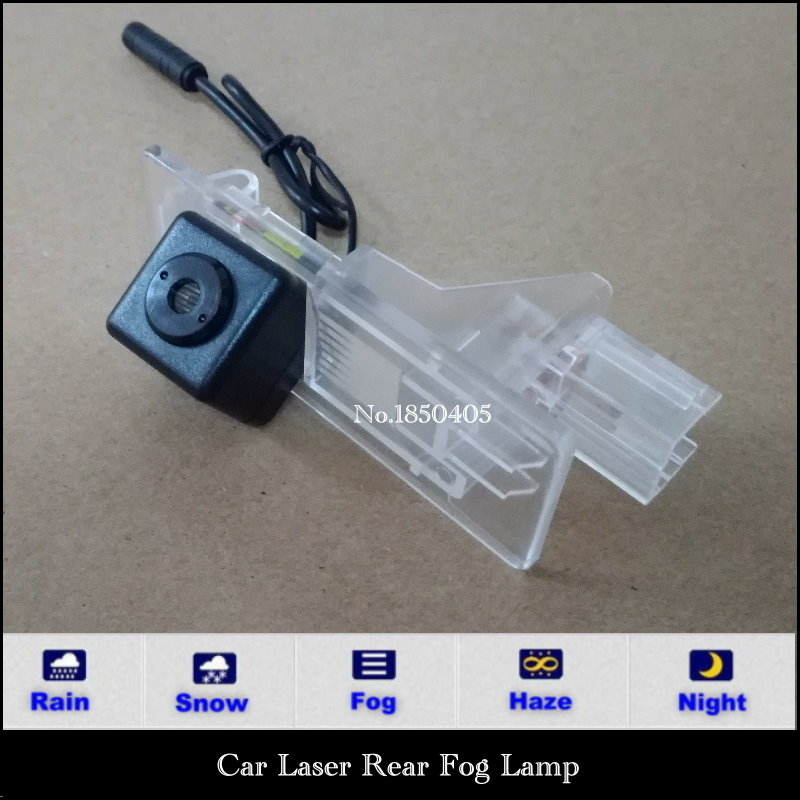 Car Laser Rear Fog Lamp / For Renault Clio 4 2014~2015 led Styling Anti Collision Tail Lamps Electronics
