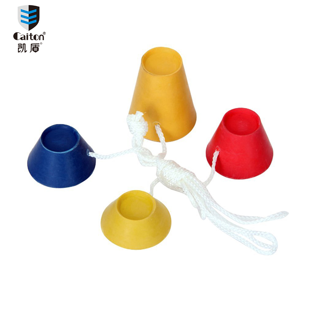 Caiton New Rubber Winter Golf Tees with Different Heights for Frosty Days 4PCS/Pack