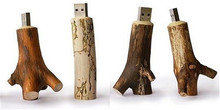 Wood design tree model USB 2.0 flash drive