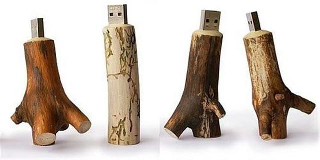 Wood design tree model USB 2.0 flash drive