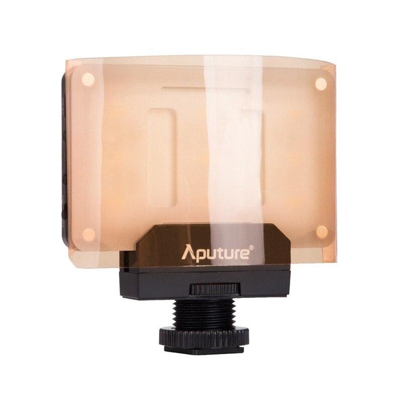 Aputure Amaran AL-M9 карман Размеры Перезаряжаемые светодиодный видео заполняющий свет CRI TLCI 95 + CTO CTB гель фильтр для зеркальных камера видеокамера