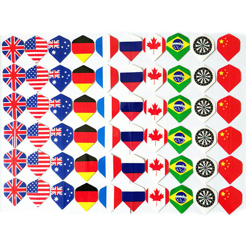 6/9/12/24/60 Cool Darts Flights Wing Mixed Style For Professional Darts Wing Tail Indoor Games Sports Entertainment