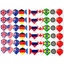 6/9/12/24/60 Cool Darts Flights Wing Mixed Style For Professional Darts Wing Tail Indoor Games Sports Entertainment 60pcs mixed style professional dart flights darts accessory outdoor and indoor sports standard dart tail wings