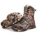 2017 Moda Hombres Tobillo botas de Combate Del Desierto Botas de La Selva de Camuflaje de Invierno Botas de Nieve A Prueba de agua Al Aire Libre Ocasional Zapatos Bota de Caza O247