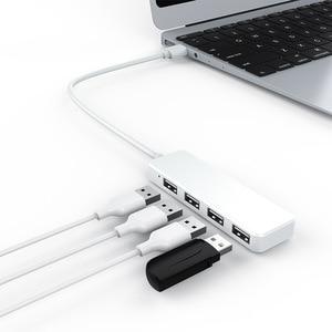 Image 1 - Hub de estación de acoplamiento USB de alta velocidad uno para cuatro conectores de interfaz y convertidor de hub ultrafino
